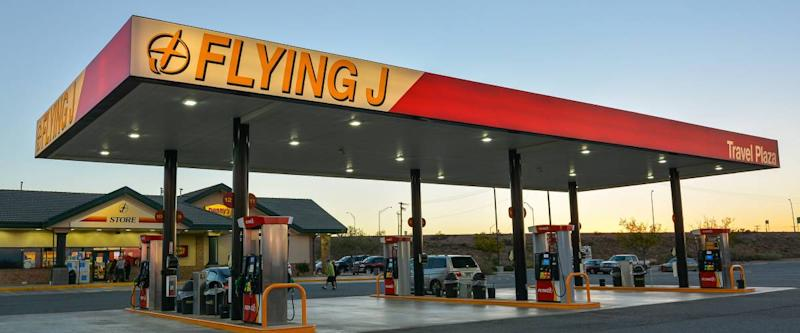 Pilot Flying J Truck Stop. Based in Knoxville, TN, Pilot Flying J is a chain of truck stops in the United States and Canada.