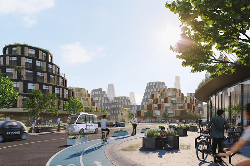 "The Orbit is an ambitious development plan ""where small town and rural lifestyles co-exist with the benefits and attributes of urban living."""