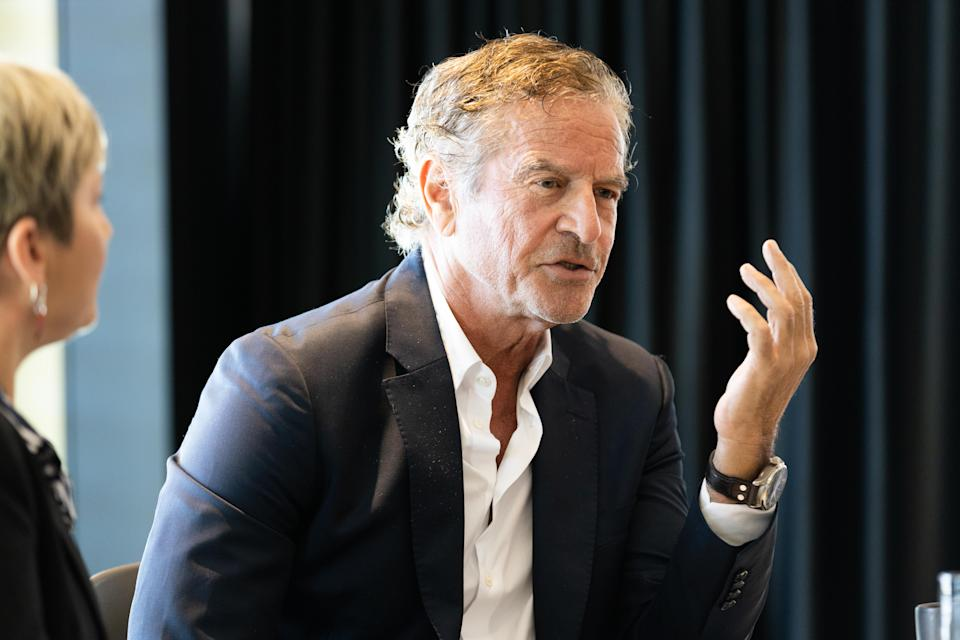 Mark Bouris speaks at a Gumtree event in June. (Image: Supplied).