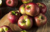 <p>Since its discovery in 1811 by John McIntosh, the McIntosh apple has gone on to become one of the most popular and beloved apples in the country. It's super-juicy with a tart and tangy flavor and tender, bright white flesh.</p>