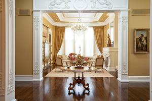 A palatial, opulent bungalow in Markham, listed at $6,888,000 by  Paul Maranger and Christian Vermast
