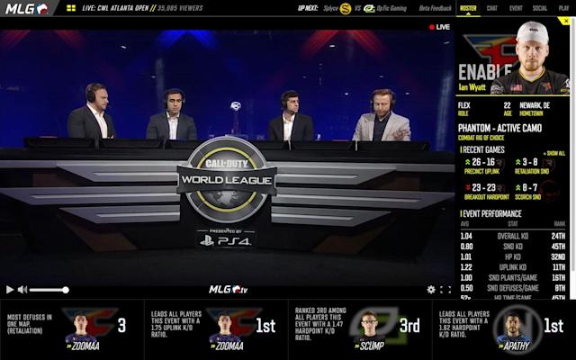 MLG.tv introduced source-quality streaming in February. (MLG)