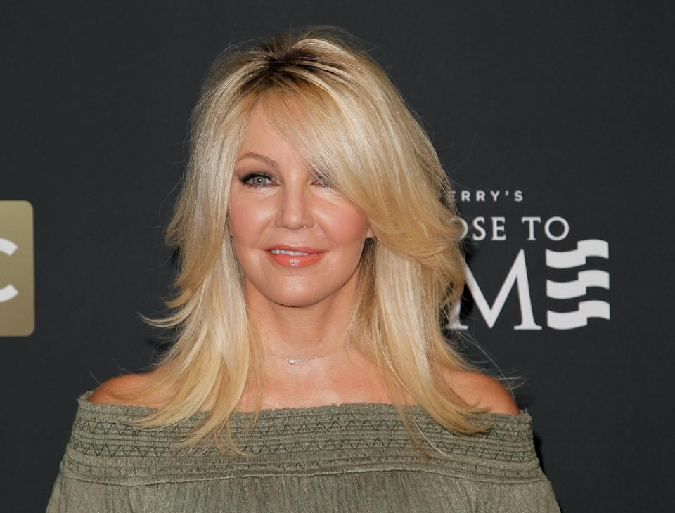 Heather Locklear talks about an uncomfortable moment filming <em>First Wives Club</em>. (Photo: Tibrina Hobson/WireImage)