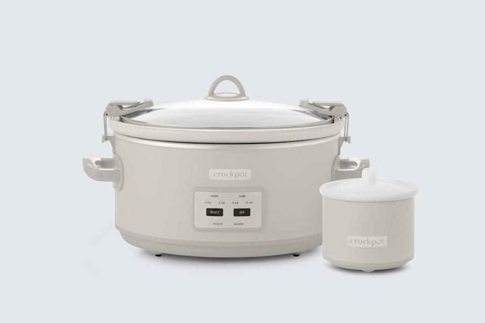 crockpot 7 quart cook and carry slow cooker