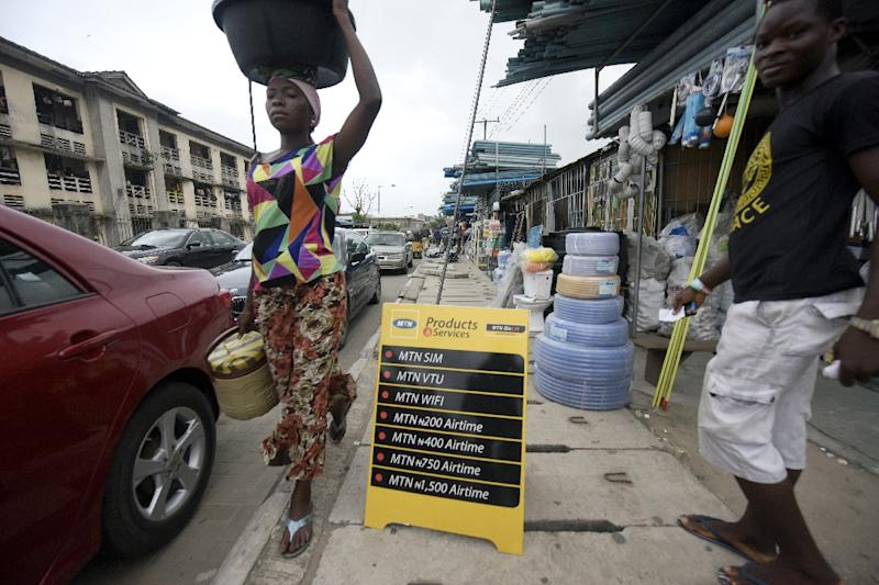 MTN says it disconnected the millions of unregistered subscribers in Nigeria at the end of August (AFP Photo/Pius Utomi Ekpei)