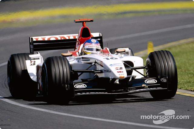"Jacques Villeneuve <span class=""copyright"">British American Racing</span>"
