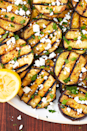 """<p>Get your grill ready because this is my all-time-favourite grilled vegetable recipe. Aubergine is infinitely better grilled, and this one comes with a simple but addicting tahini dressing. The Mediterranean vibes will have you feeling like you're relaxing along the coast, and we are always up for that. </p><p>Get the <a href=""""https://www.delish.com/uk/cooking/recipes/a28960443/grilled-aubergine-recipe/"""" rel=""""nofollow noopener"""" target=""""_blank"""" data-ylk=""""slk:Mediterranean Grilled Aubergine"""" class=""""link rapid-noclick-resp"""">Mediterranean Grilled Aubergine</a> recipe.</p>"""
