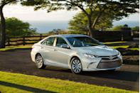 <p>An emergency refresh was applied to the Camry for the 2015 model year. Toyota emphasizes that it was much more significant than a typical mid-cycle update, as the roof was the only exterior component left unchanged. The new styling was a bit more daring and the interior was improved, but its predecessor's aging engines again carried over, and performance didn't radically change. Given the popularity of the SE trim level, Toyota decided to enhance the sportiness factor even more, adding an XSE model that, at least visually, amped things up a bit further.</p>