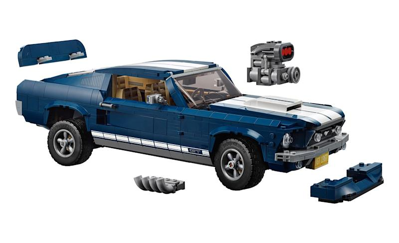 Lego's new Ford Mustang set is guaranteed to rev your engine
