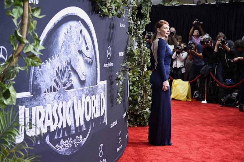 "Actress Bryce Dallas Howard attends the Universal Pictures' ""Jurassic World"" premiere at Dolby Theatre on June 9, 2015 in Hollywood, California"