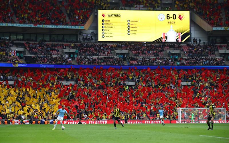 Wembley will host both semi-finals and the final at Euro 2020 - Getty Images Europe