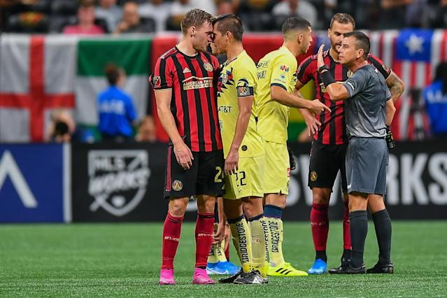 Could Atlanta vs. Club America become a twice-a-year showdown in a MLS-Liga MX North American Super League? (Rich von Biberstein/Icon Sportswire/Getty Images)
