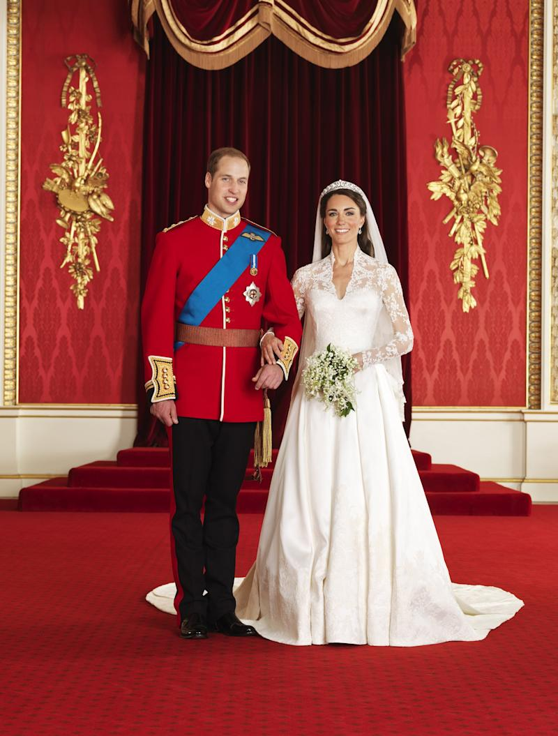 Prince William and Kate Middleton wedding 2011