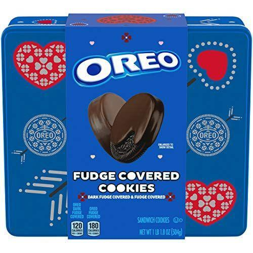 """<p><strong>Oreo</strong></p><p>amazon.com</p><p><strong>$14.99</strong></p><p><a href=""""https://www.amazon.com/dp/B08KTBDX21?tag=syn-yahoo-20&ascsubtag=%5Bartid%7C10054.g.36098928%5Bsrc%7Cyahoo-us"""" rel=""""nofollow noopener"""" target=""""_blank"""" data-ylk=""""slk:Shop Now"""" class=""""link rapid-noclick-resp"""">Shop Now</a></p><p>Freeze fudge-covered Oreos ahead of movie night for a decadent frosty dessert. Just trust us on this one.</p>"""