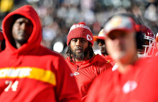 Eric Berry spent his entire nine-year NFL career with the Chiefs before he was released last week. (Getty Images)