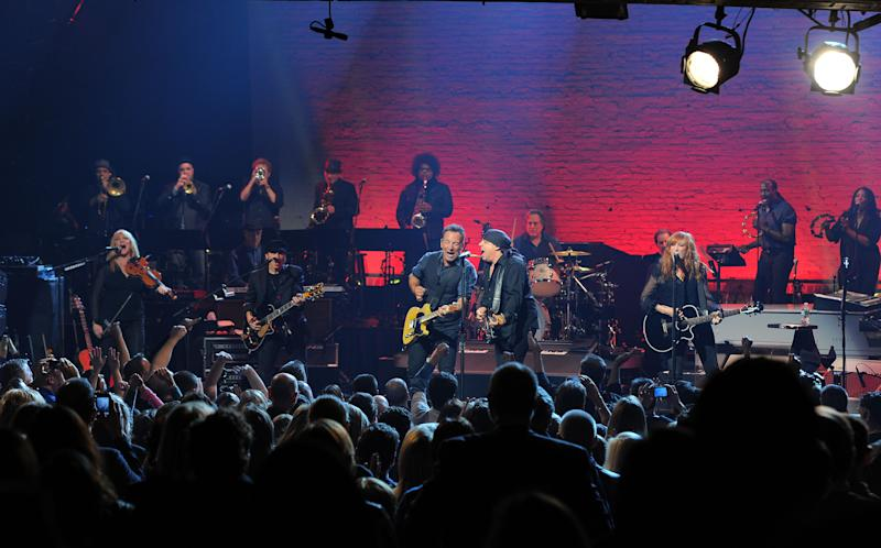 SiriusXM Celebrates 10 Years Of Satellite Radio With A Concert By Bruce Springsteen & The E Street Band - Show
