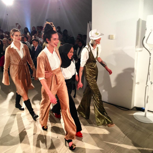 The first ever London Modest Fashion Week took place this weekend [Photo: Instagram/@hauteelan]