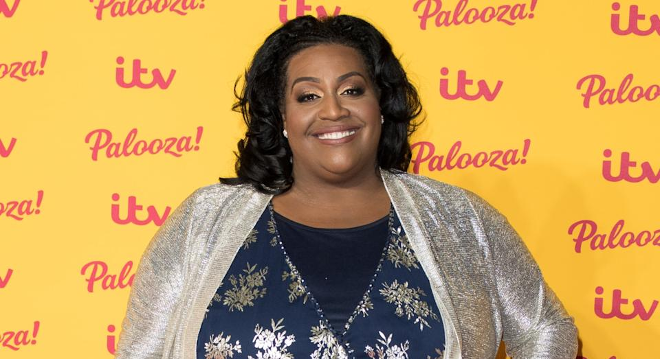 Alison Hammond attends the ITV Palooza! held at The Royal Festival Hall on October 16, 2018 (Getty)
