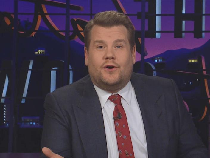 James Corden in a video for our appeal, in which he asks for donations to help get thousands more tested for HIV: YouTube