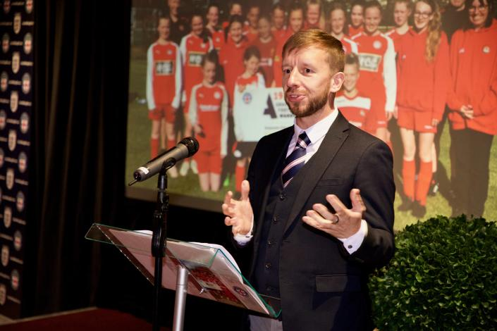 Steven Wade, chief executive of the North Riding County Football Association