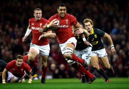 FILE PHOTO: Rugby Union - Autumn Internationals - Wales vs South Africa - Principality Stadium, Cardiff, Britain - December 2, 2017 Wales' Taulupe Faletau in action REUTERS/Rebecca Naden
