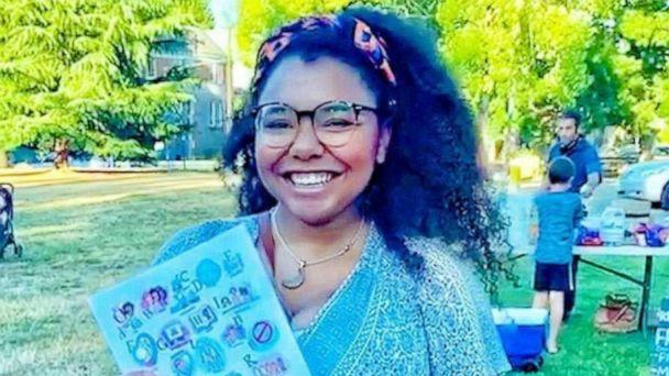 PHOTO: Taimani Reed of Portland, Oregon, is a photographer, brand designer and an illustrator. The mom of two launched her project, 'A is for Ally'--a collection of art which focuses on the ABC's of acceptance and words associated with oppression. (Taimani Reed)