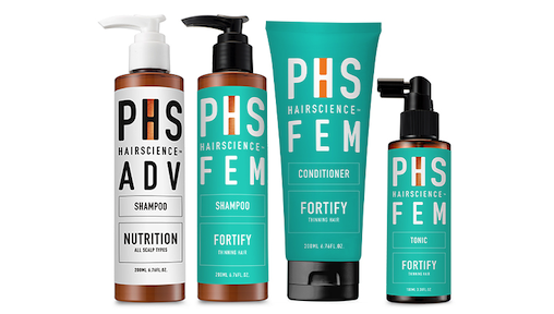 Giveaway! Win PHS Hairscience FEM Fortify Daily Regime Hair Products Worth $264