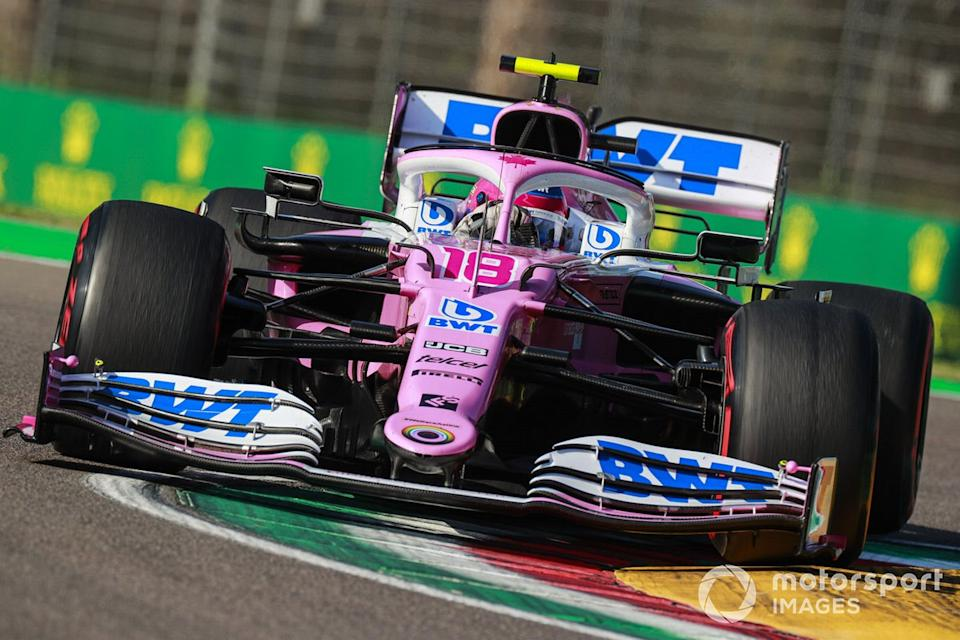 """P15 Lance Stroll, Racing Point RP20<span class=""""copyright"""">Steven Tee / Motorsport Images</span>"""