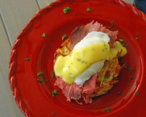 """<p>Nail that béarnaise sauce and you've got the breakfast of holiday champions.</p><p>Get the recipe from <a href=""""https://www.nibblemethis.com/2012/12/prime-rib-eggs-benedict.html"""" rel=""""nofollow noopener"""" target=""""_blank"""" data-ylk=""""slk:Nibble Me This"""" class=""""link rapid-noclick-resp"""">Nibble Me This</a>. </p>"""