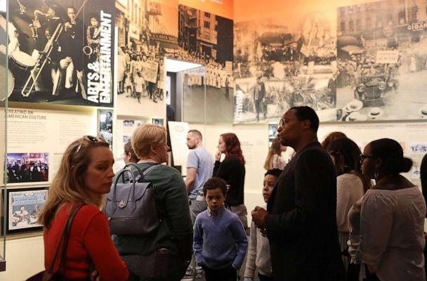 PHOTO: Visitors tour the National Civil Rights Museum, April 3, 2018 in Memphis, Tenn. (Joe Raedle/Getty Images, FILE)