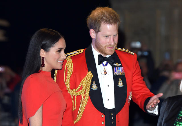 Prince Harry will have to give up his ceremonial titles when he steps back. (Getty Images)