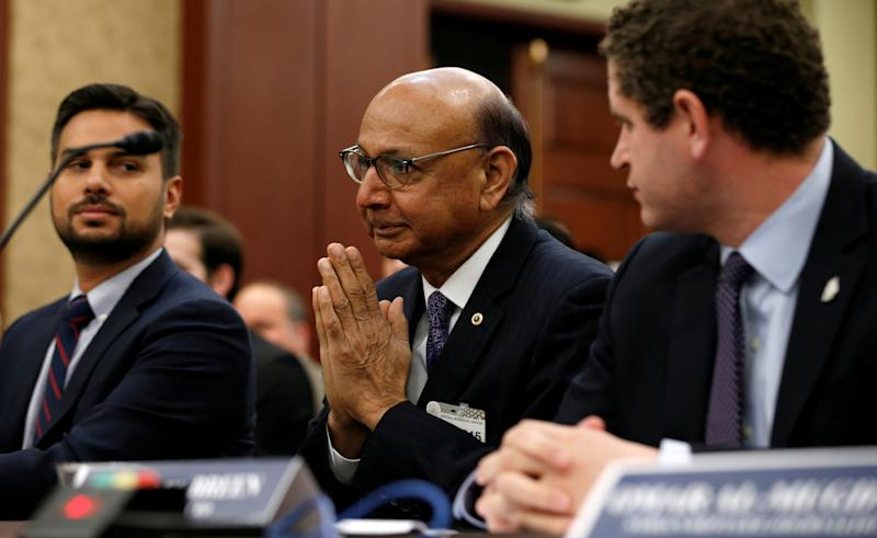 FILE PHOTO: Discussion panel on the Muslim and refugee ban on Capitol Hill in Washington