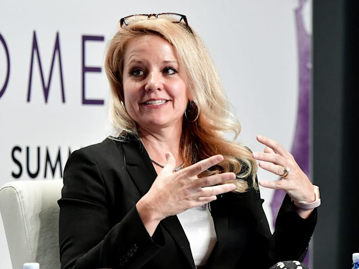 Gwynne Shotwell, SpaceX's president and COO, in 2017.