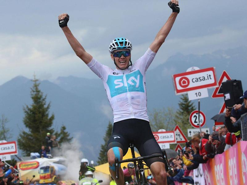 Chris Froome earlier this year won the Giro d'Italia (Getty)