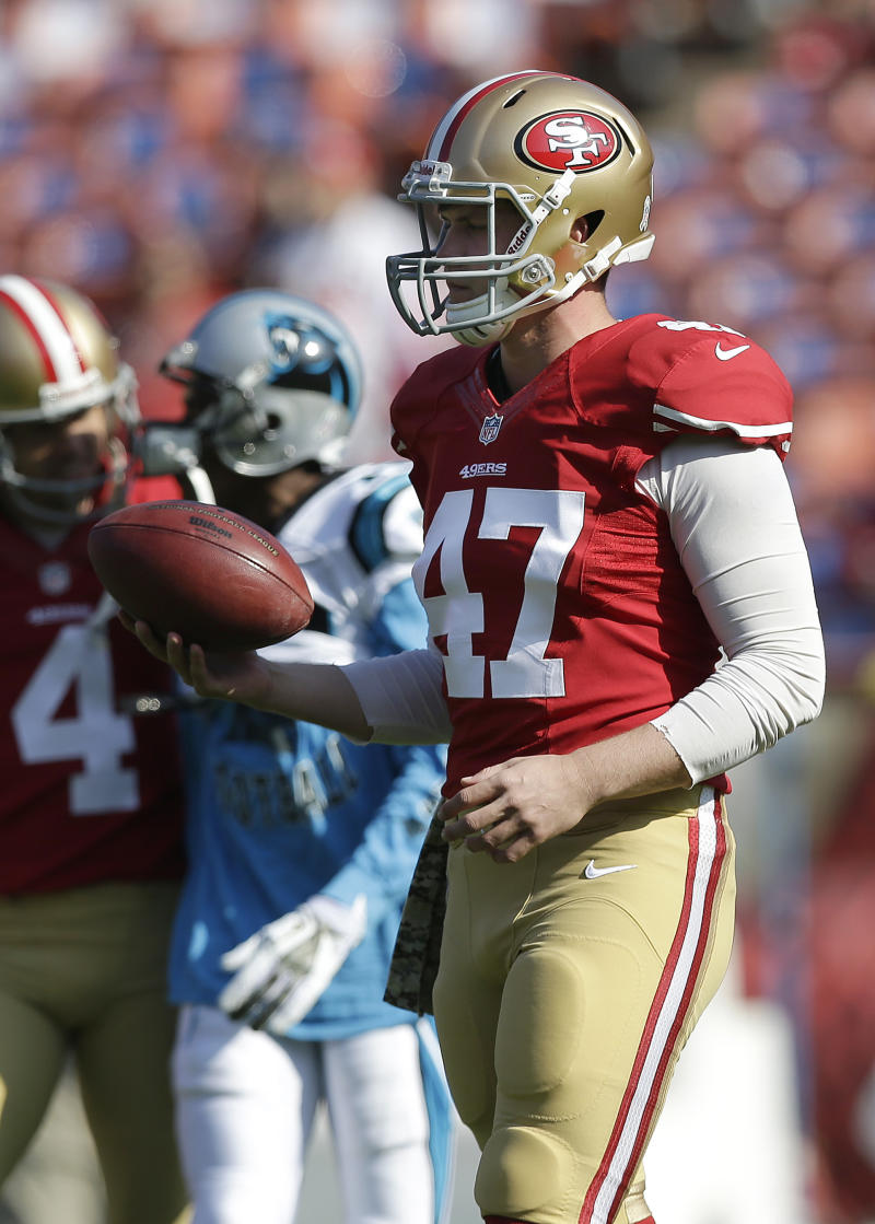 49ers rookie McDermott impresses as long snapper
