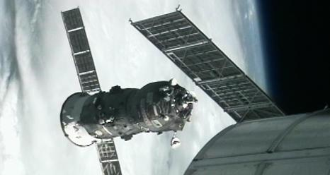 Unmanned Russian Cargo Ship Departs Space Station