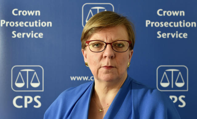 Alison Saunders, the former Director of Public Prosecutions, has been criticised for receiving a damehood a year after she was forced to step down (PA)