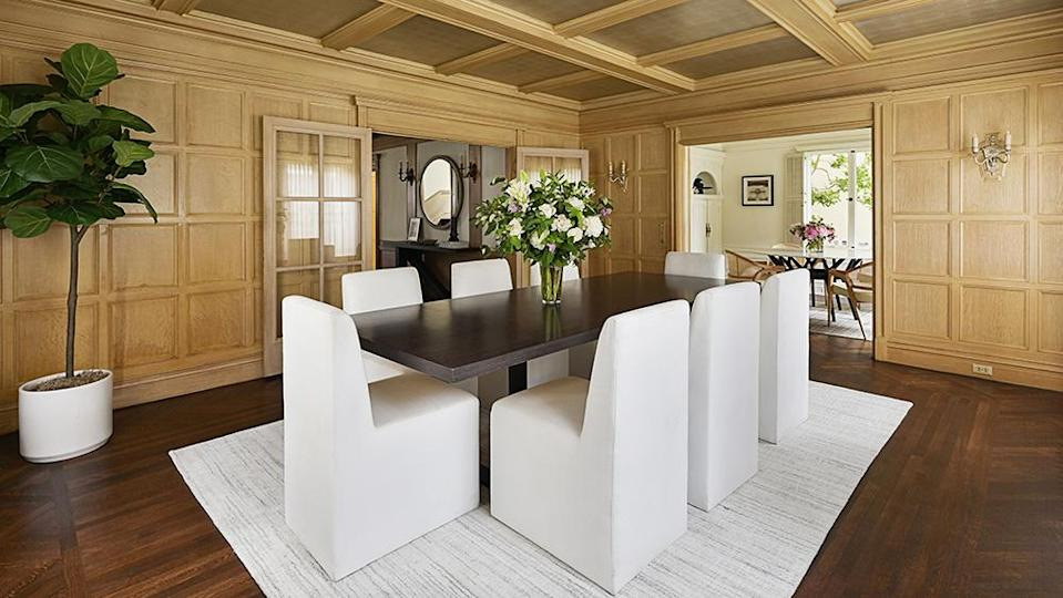 The formal dining room. - Credit: Photo: Courtesy of Lunghi Media Group for Sotheby's International Realty