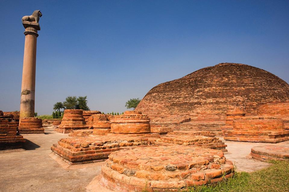 Vaishali, situated in Vaishali district in Bihar, now an archaelogical site, was established in 6th century BCE as a republic, i.e., before the birth of Gautam Buddha, thereby making it the world's first republic