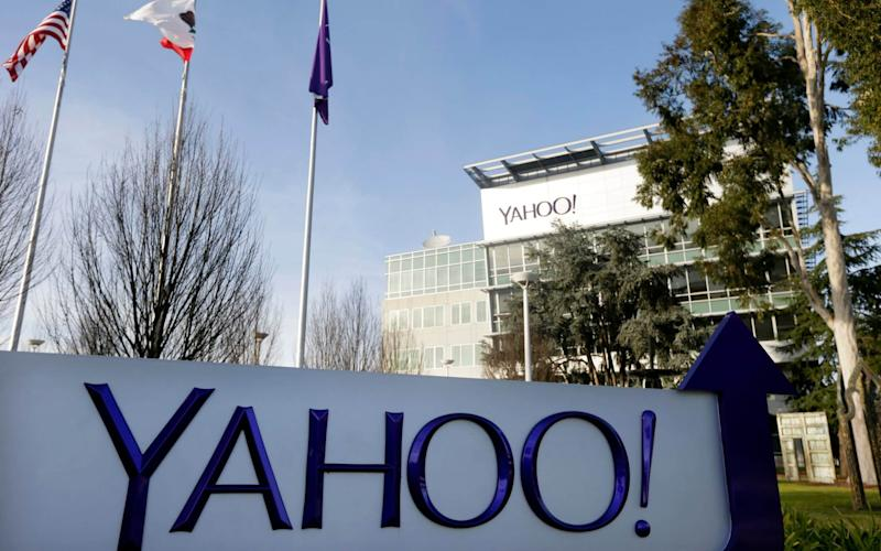 Yahoo was hit with the £250,000 fine - AP