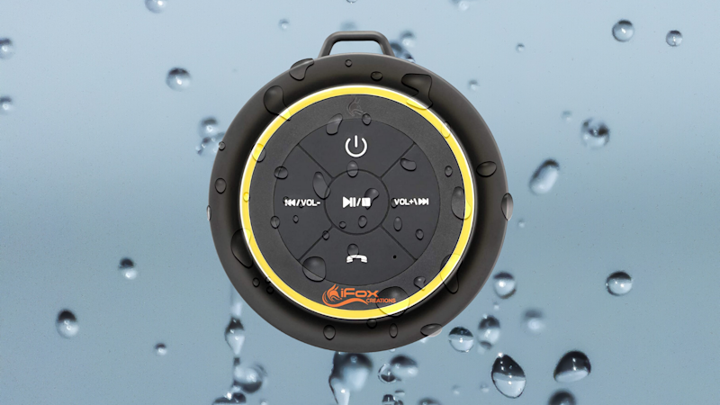 Save $20 on this iFox Bluetooth Shower Speaker (iF012). (Photo: iFox)