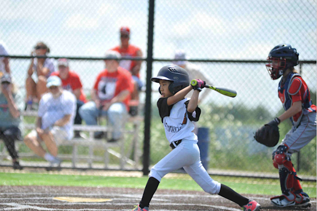 "The girls at Baseball For All's 2017 National Tournament are all younger than the movie ""A League of Their Own,"" but they don't care — they adore it. (Facebook/Baseball For All)"