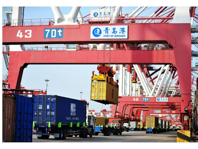 The US and China did not say how much China would reduce the trade deficit, however: Getty