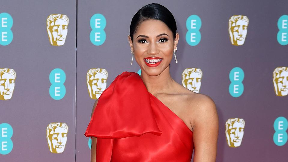 Vick Hope revealed how she used to be paid to flirt online in a previous job (Getty Images)
