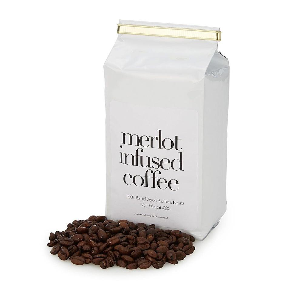 <p>The <span>Merlot Infused Coffee</span> ($20) combines two of his favorite flavors. </p>