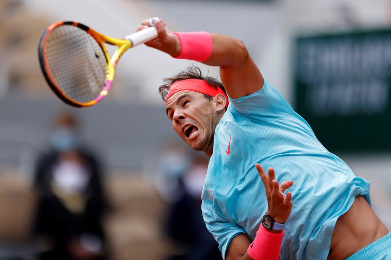 Ruthless Nadal stays on course for 13th French Open title
