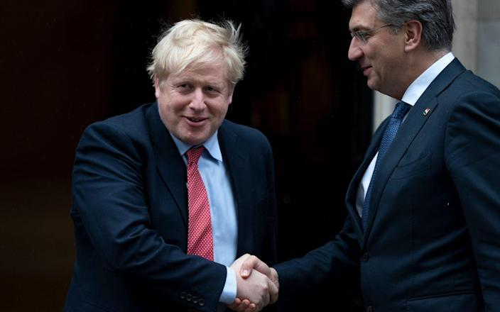 """Croatian Andrej Plenkovic has suggested that the UK is """"hijacking"""" vaccines intended for the EU - Rex"""
