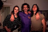 <p>Keith Richards backstage with Mike McCready, and Eddie Vedder at the Academy in NYC on December 31, 1992.</p>