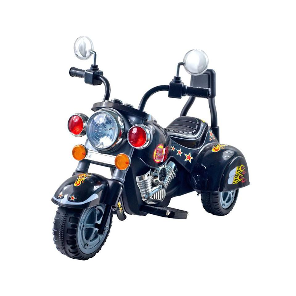 Lil' Rider Road Warrior motorcycle 6V ride-on. (Photo: QVC)