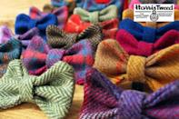 """<p>Make your hounds the talk of the town this festive season with a handmade Harris tweed bow tie by House of Eden. Check out their gorgeous matching <a href=""""https://www.etsy.com/uk/listing/247135116/harris-tweed-or-liberty-of-london-any?ga_order=most_relevant&ga_search_type=all&ga_view_type=gallery&ga_search_query=pet&ref=sc_gallery_7&plkey=2ea426fdd862056eb92590f3e4b64d68550e82b0:247135116"""" rel=""""nofollow noopener"""" target=""""_blank"""" data-ylk=""""slk:leads"""" class=""""link rapid-noclick-resp"""">leads</a> and <a href=""""https://www.etsy.com/uk/listing/247008308/toby-designer-harris-tweed-dog-collar?ref=listing-shop-header-2"""" rel=""""nofollow noopener"""" target=""""_blank"""" data-ylk=""""slk:collars"""" class=""""link rapid-noclick-resp"""">collars</a>.<br></p><p>£7 <a href=""""https://www.etsy.com/uk/listing/291766873/harris-tweed-dog-bows-bow-ties?ga_order=most_relevant&ga_search_type=all&ga_view_type=gallery&ga_search_query=pet&ref=sc_gallery_3&plkey=a3d4e34d62d0f91300fb4d46dda36f24c284fbab:291766873"""" rel=""""nofollow noopener"""" target=""""_blank"""" data-ylk=""""slk:House of Eden"""" class=""""link rapid-noclick-resp"""">House of Eden</a></p>"""